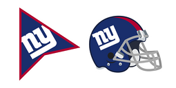 New York Giants Cursor