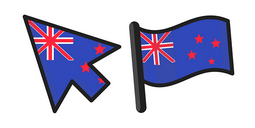 New Zealand Flag Cursor