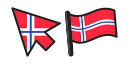 Norway Flag Cursor