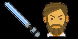 Obi Van Lightsaber Cursor