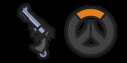 Overwatch McCree's Peacekeeper Revolver Cursor