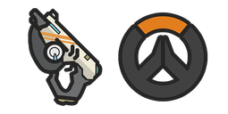 Overwatch Tracer's Pulse Pistol Cursor