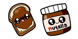 Cute Nutella Cursor