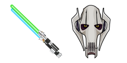 Star Wars General Grievous Lightsabers Cursor