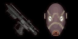 Star Wars BX-Series Droid Commando E-5 Blaster Rifle Cursor