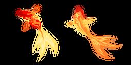 Aquarelle Goldfish Cursor