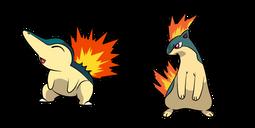 Pokemon Cyndaquil and Typhlosion Cursor