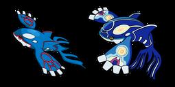 Pokemon Kyogre and Primal Kyogre Cursor