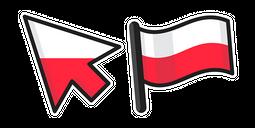 Poland Flag Cursor
