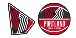 Portland Trail Blazers Cursor