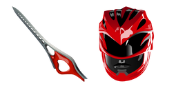 Power Rangers Red Ranger Sword Cursor
