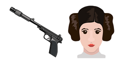 Princess Leia Blaster Cursor