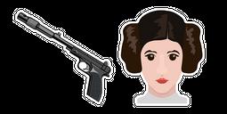 Star Wars Princess Leia Blaster Cursor