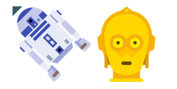 Star Wars R2D2 and C-3PO Cursor