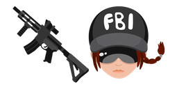 Rainbow Six Siege Ash R4-C Assault Rifle Cursor