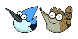 Regular Show Mordecai and Rigby Cursor