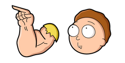 Rick and Morty Armothy Cursor