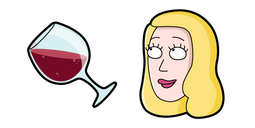 Rick and Morty Beth Smith Cursor