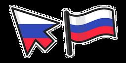 Russia Flag Cursor