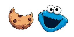 Sesame Street Cookie Monster Cursor