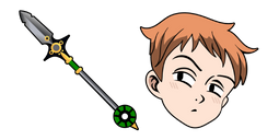 Seven Deadly Sins King Spirit Spear Cursor