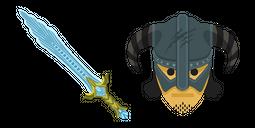 Skyrim Chillrend Sword Cursor