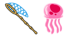 SpongeBob Jellyfishing Cursor