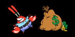 SpongeBob Mr Krabs Money Bag Cursor
