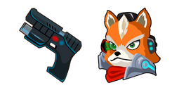 Star Fox McCloud Blaster Cursor