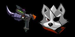 Star Fox Wolf O Donnell Blaster Cursor