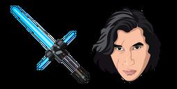 Star Wars Kylo Ren Blue Lightsaber Cursor