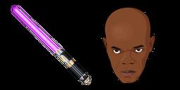 Star Wars Mace Windu Lightsaber Cursor