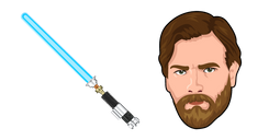 Star Wars Obi-Wan Kenobi Lightsaber Cursor