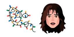 Stranger Things Joyce Byers Garland Lights Cursor