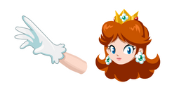 Super Mario Princess Daisy Cursor