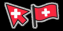 Switzerland Flag Cursor