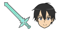 Sword Art Online Kirito Dark Repulser Sword Cursor