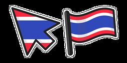 Thailand Flag Cursor