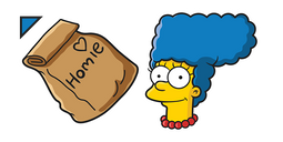 The Simpsons Marge Homie Dinner Cursor