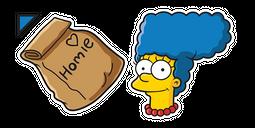 The Simpsons Marge Homie Dinner Cursor