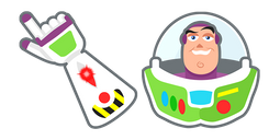 Toy Story Buzz Lightyear Cursor