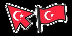 Turkey Flag Cursor