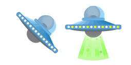 UFO Flying Saucer Cursor