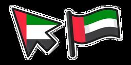 United Arab Emirates Flag Cursor