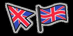 United Kingdom Flag Cursor