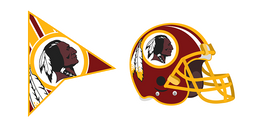 Washington Redskins Cursor