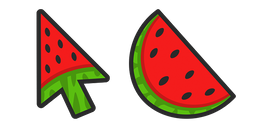Watermelon Arrow Cursor