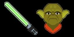 Yoda Lightsaber Cursor
