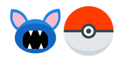 Pokemon Zubat and Pokeball Cursor