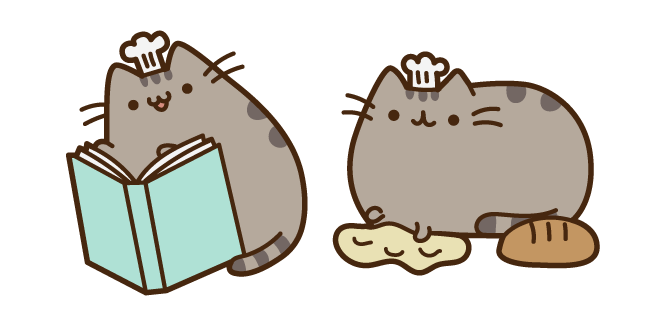 Pusheen the Baker